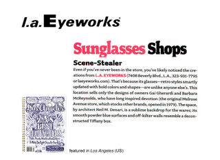 L.a.Eyeworks Beverly store