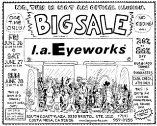 L.a.Eyeworks Big Sale South Coast Plaza 2009