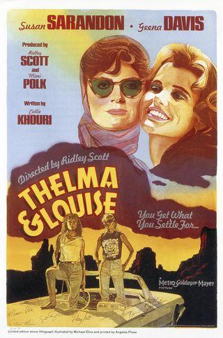 Thelma & Louise_poster_Cornu