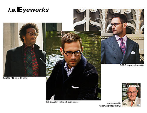 l.a.Eyeworks in Cigar Aficionado
