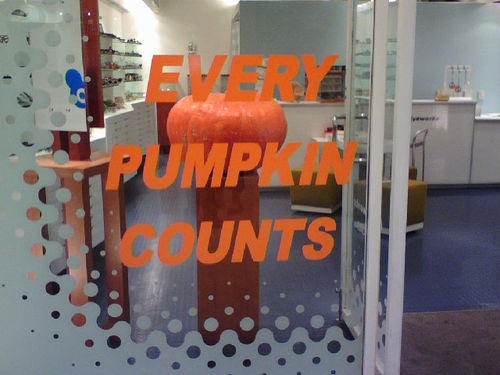 Every Pumpkin Counts