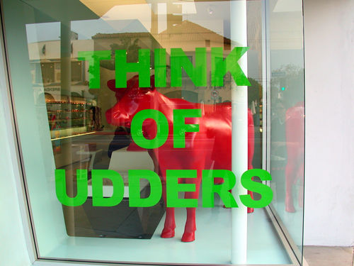 Think of Udders (detail)